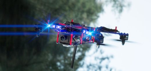 Лига гоночных дронов
