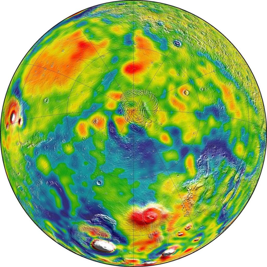 Марс (Северный полюс)