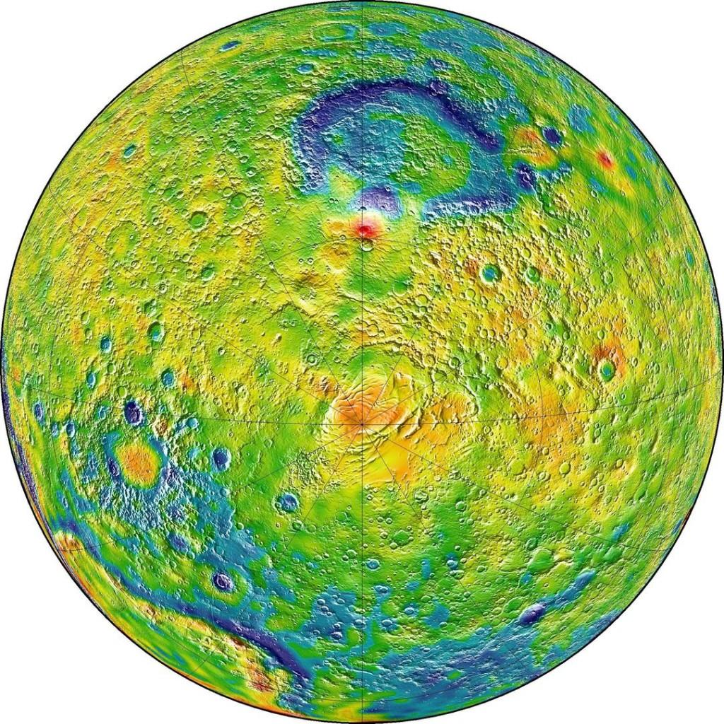 Марс (Южный полюс)