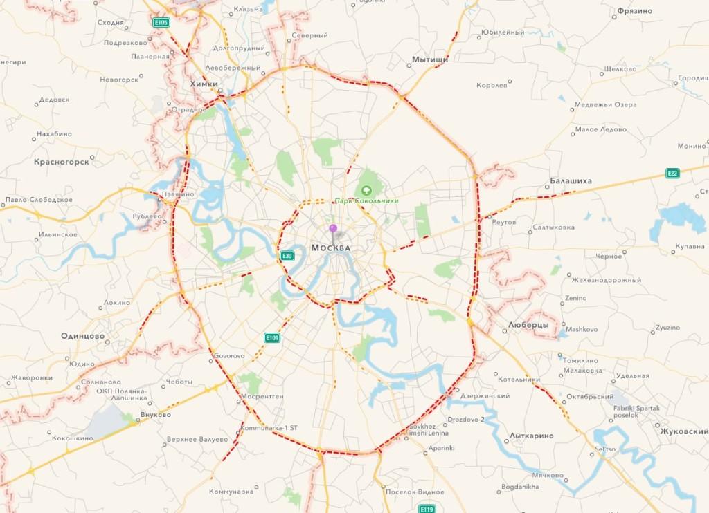 Apple Maps Russia