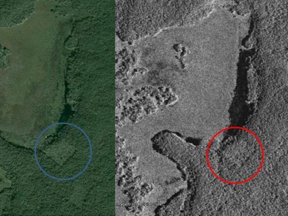 Сравнение спутниковых снимков с данными Google Earth
