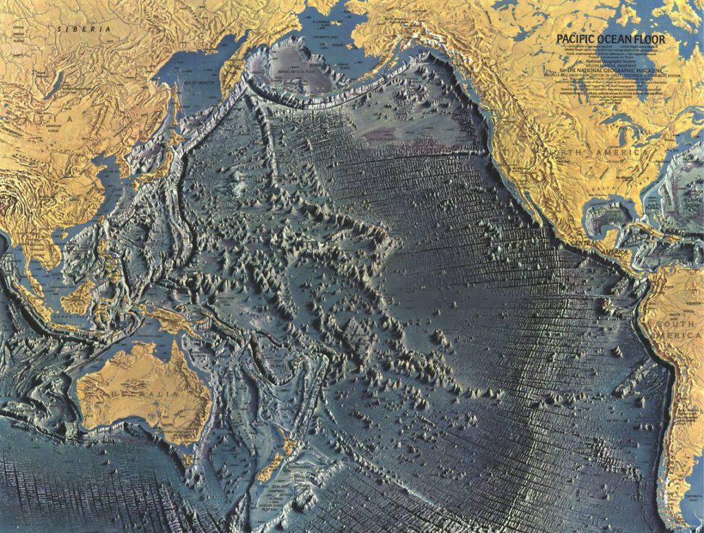 Дно Тихого океана. 1969 год.