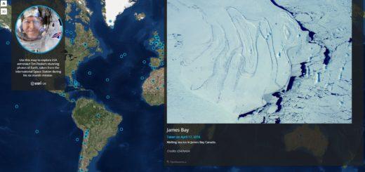 Интерактивная карта от ESRI UK