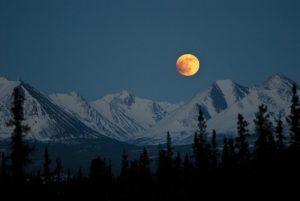 Луна в перигее