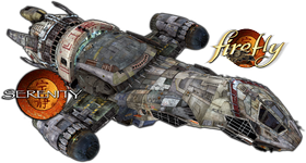 Firefly Transport Ship Serenity