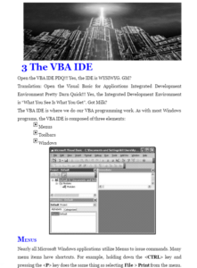 Learning Microstation VBA