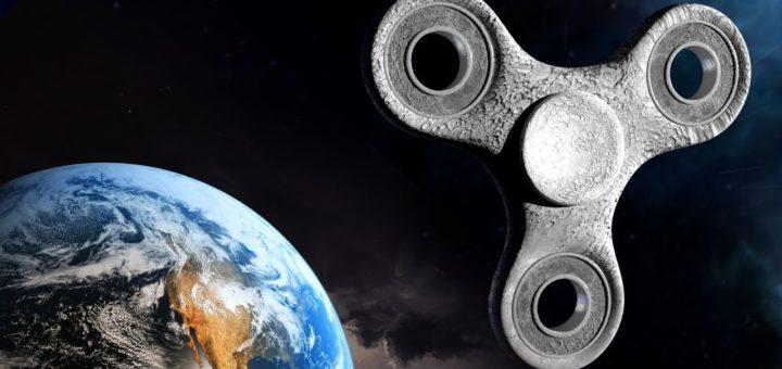 Спиннер в космосе