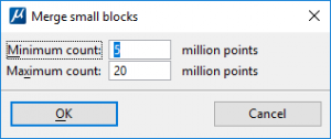 Merge small blocks
