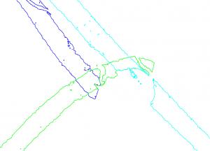 Draw line boundaries