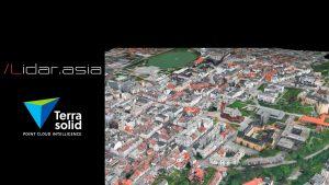 TerraSolid. Создание трехмерной модели города.