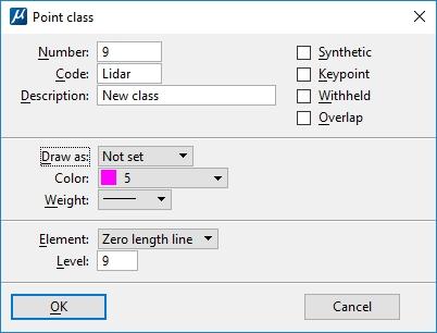 TerraScan. Add Point Class.