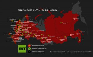 Статистика COVID-19 в России на 01.04.2020