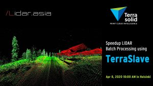Speedup LIDAR Batch Processing using TerraSlave
